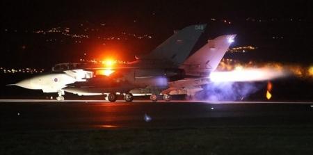 شاهد بالصور بريطانيا تشن أولى ضرباتها الجوية على داعش في سوريا