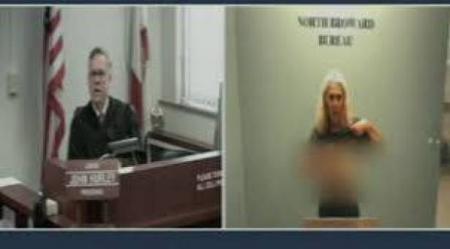 بالفيديو 18 شاهد كيف تعامل قاض أمريكي مع فتاة ليل تعرت أمامه لإظهار