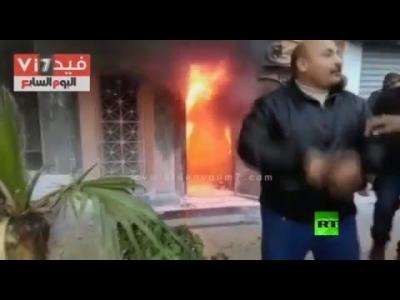 هجوم بمولوتوف في ملهى ليلي في الجيزة شاهد بالفيديو مدى الدمار
