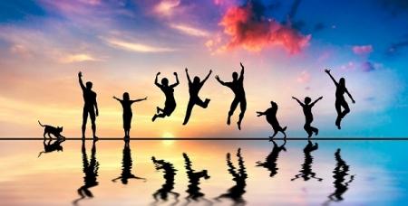 مصدر السعادة اللامحدودة , إفراز هرمون السعادة سيروتونين