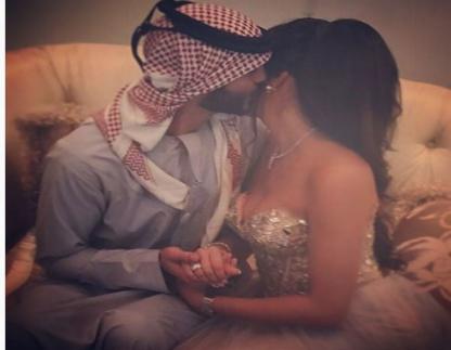 صور زوجة الاماراتي الوسيم عمر بركان الغلا - صور زفاف عمر بركان الغلا