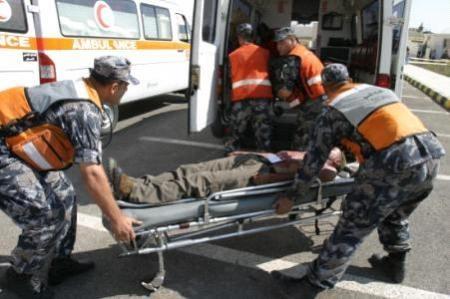 الدفاع المدني وفاة اثر حادث تدهور على جسر معان