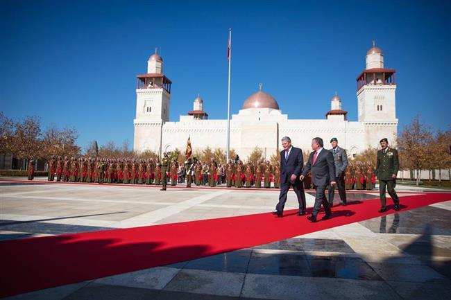 بالصور جلالة الملك يستقبل الرئيس الألماني يواخيم غاوك