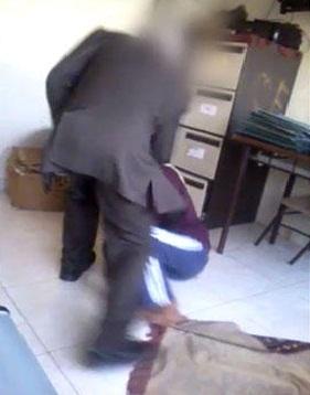 بالفيديو الامن الاردني يلقي القبض على الرجل الذي ضرب عاملة منزل بوحشية