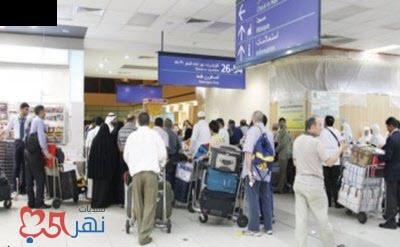 شاهد مصري يغادر مطار جدة دون جواز سفر بمساعدة عامل هندي