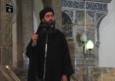 زعيم الدولة الإسلامية البغدادي يستقر في معقل داعش بعد نجاته من غارة جوية