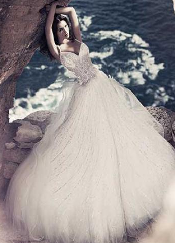 ازياء جديدة للعرايس 2016 - احدث صور فساتين زفاف 2016 - فساتين رائعة لزفاف 2016