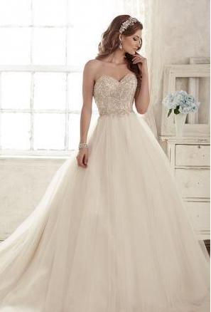 6b4946cf2 ازياء جديدة للعرايس 2019 - احدث صور فساتين زفاف 2019 - فساتين رائعة لزفاف  2019