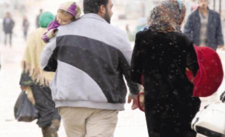 الزواج المبكر بين اللاجئات السوريات لعام 2015 / 2016