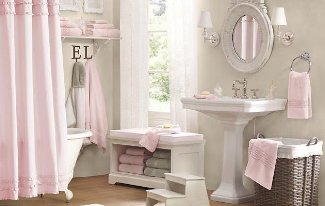 صور ديكورات حمامات 2019 , صور مفارش للحمامات روعة 2019 , اكسسوارات حمامات مودرن 2019