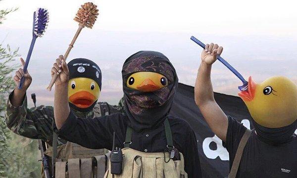 صور سخرية من داعش الارهابي , يوم عالمي للسخرية من داعش الارهابي