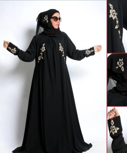 عبايات كرم قادري اخر فخامة 2016 , اشهر ماركات عبايات خليجية بالصور 2017