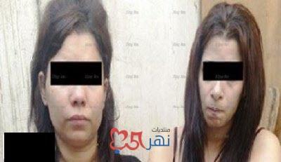 شاهد بالصور ضبط ممثلتين أثناء ممارسة الرذيلة مع ٣ أثرياء عرب بالجيزة