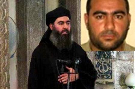 شاهد صور و فيديو الجبان ابو بكر البغدادي , تعرف على المجرم الاكبر والارهابي اليهودي
