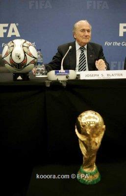 الفيفا متحمس للملف الأسباني البرتغالي لاستضافة كأس العالم 2018 أو 2022 وأمريكا تمتلك فرصة