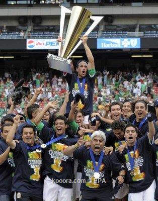 المكسيك تهزم الولايات المتحدة بخماسية تاريخية وتحرز لقب جولد كاب