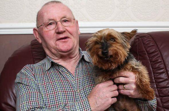 صور أقدم كلب في بريطانيا والعالم يحتفل بعيد ميلاده 117 عام