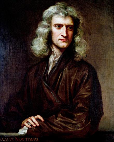 معلومات عن السير اسحاق نيوتن