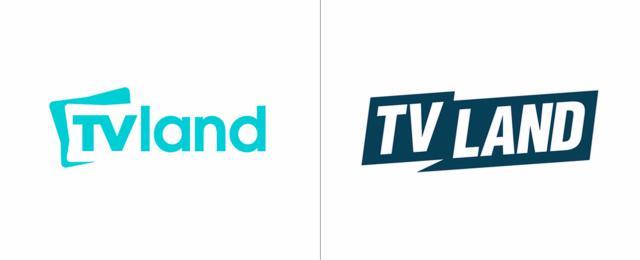 صور شعار شبكة TVLAND, بالصور تغير لوجو الشبكة TVLAND