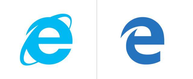 صور شعار شركة متصفح مايكرسوفت ايدج, بالصور تغير لوجو مُتصفح Microsoft Edge