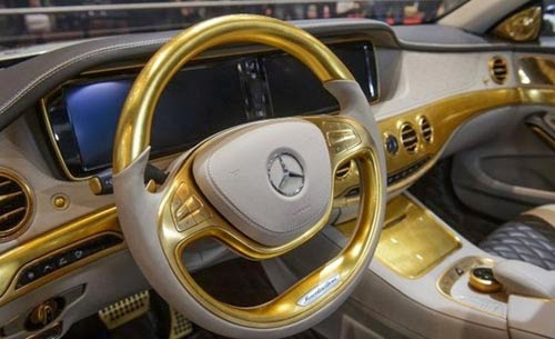صورمرسيدس الذهبيه لعام 2016 , تقرير مصور للسيارة مرسيدس الذهبيه 2016