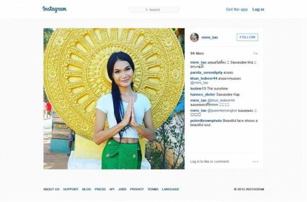 صور راهب بوذي بعد تحوله جنسيا يصبح أشهر عارضة أزياء في تايلاند