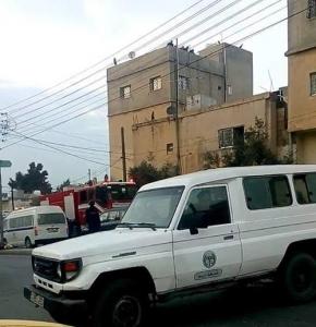 مشاجرة مسلحة بحي التركمان في مدنية اربد اليوم الجمعة 18-12-2015