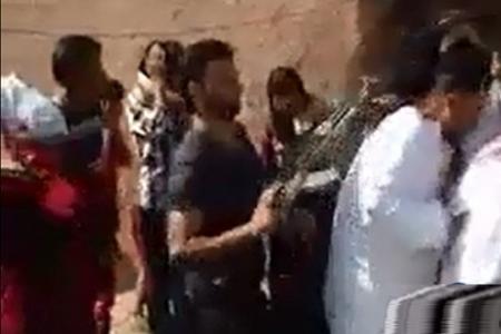 شاهد حفل زفاف في العراق بالفيديو يتحول الى صراخ وعويل