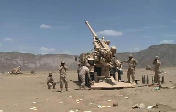 قناة الإخبارية مليشيات الحوثي والمخلوع صالح أطلقت 113 مقذوفاً عسكرياً على محافظة الطوال