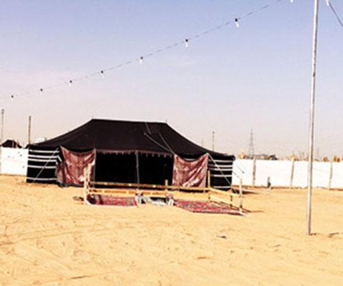 مخيمات البر في الرياض , مخيمات الثمامة أغلى من فنادق 5 نجوم