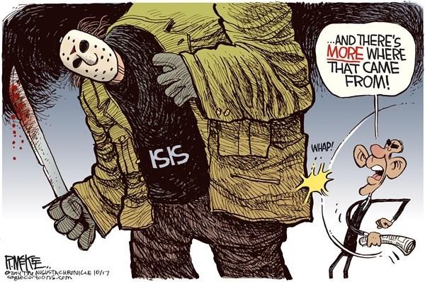 صور و رسومات كاركاتير بالعربية والاجنبية عن تنظيم الدولة الاسلامية داعش الارهابي