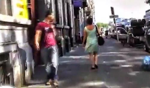 بلجيكية توثق التحرش الجنسي بالكاميرا