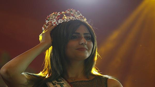 بالصور شيماء قاسم هي ملكة جمال العراق 2016