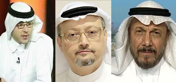 تفاصيل اراء خاشقجي ونواف عبيد وأنور عشقي الثلاثة لا يعكسون وجهة نظر حكومة السعودية