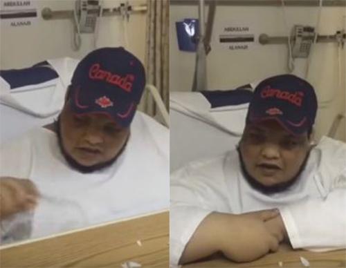 بالفيديو مواطن سعودي يشفى من الشلل النصفي بعمل بسيط أرضى به الله