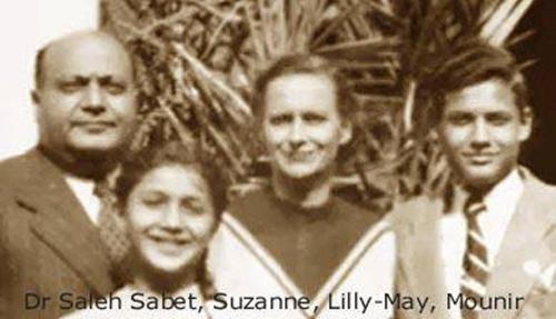 صور سوزان مبارك طفلة مع والدها ووالدتها وشقيقها , صورة لسوزان مع ابنها جمال