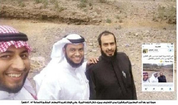 صور مدير تعليم مكة محمد مهدي الحارثي في نزهة برية بانتداب حكومي