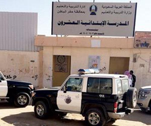 تفاصيل دخول عمال لمدرسة بنات في حفر الباطن يتسبب في مضاربة