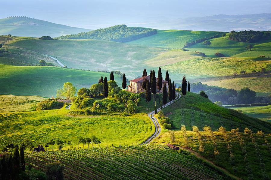 صور اجمل المناظر الطبيعية الخلابة في توسكانا Tuscany