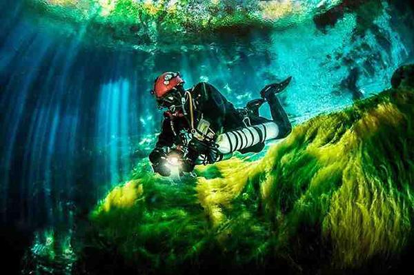 صور الكهوف الألبانية تحت الماء روعة, صور كهف Viroit وصور كهف Skotini , بالصور Petranik