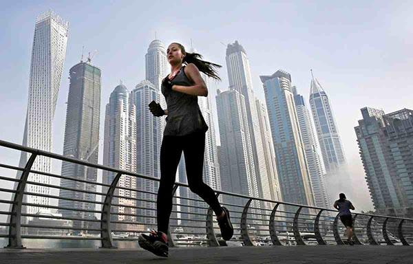 شاهد صور تظهر و تثبت أن دبي تحولت إلى مانهاتن الشرق الأوسط