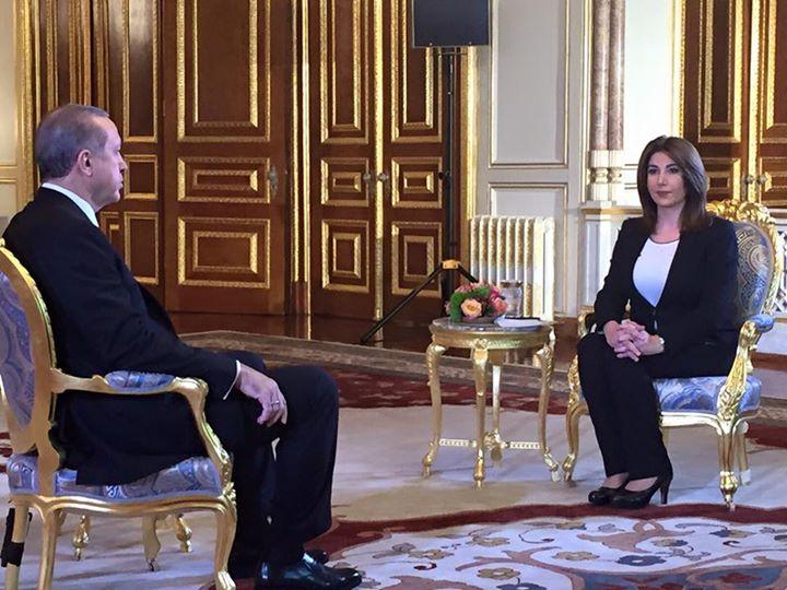 شاهد لقاء الرئيس التركى أردوغان على قناة العربية