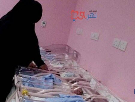 شاهد ممرضه سعودية أنقذت 7 أطفال ببطانية في حريق مستشفى جازان العام