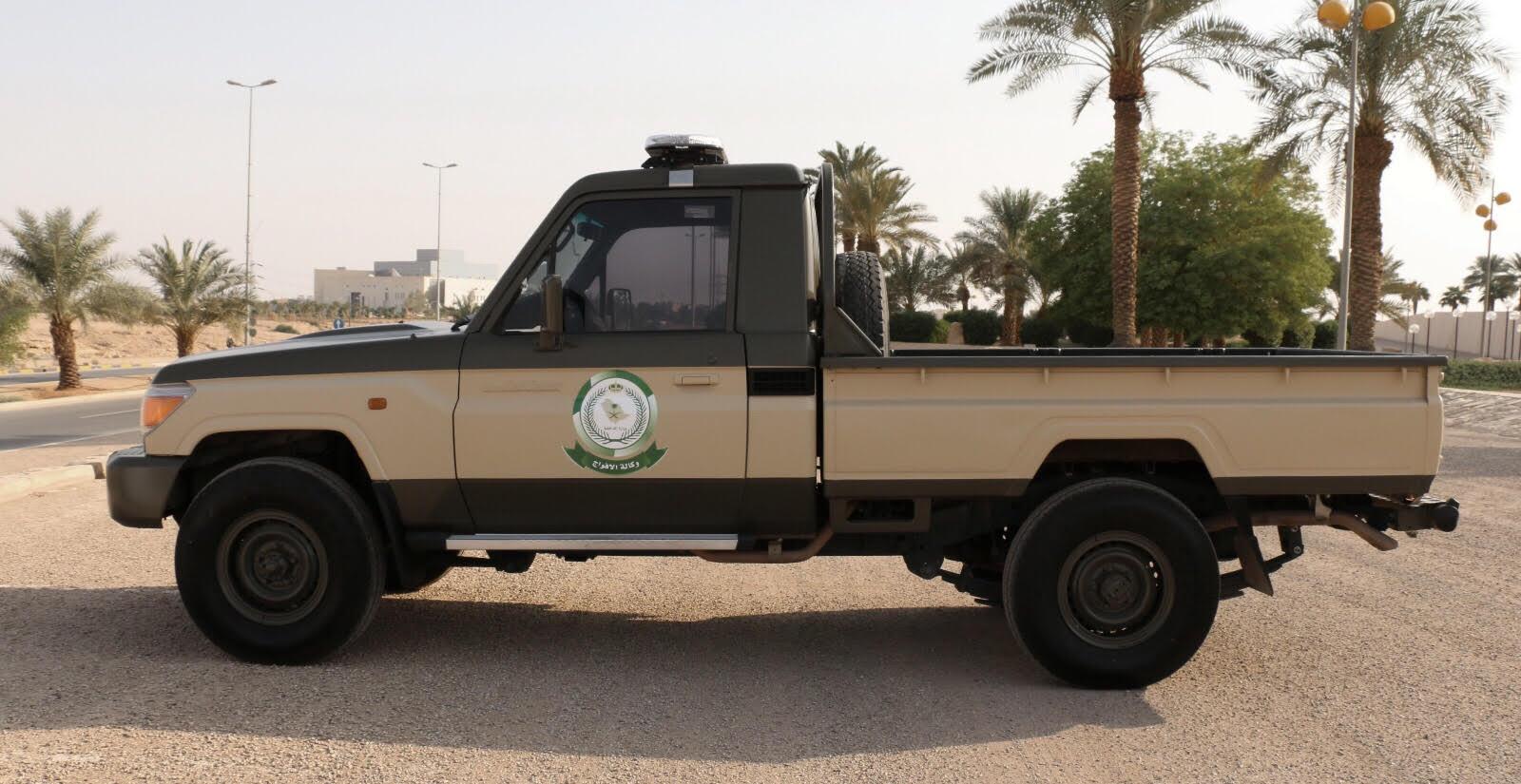 صور زي وشعار ولون مركبات الأفواج الأمنية في السعودية