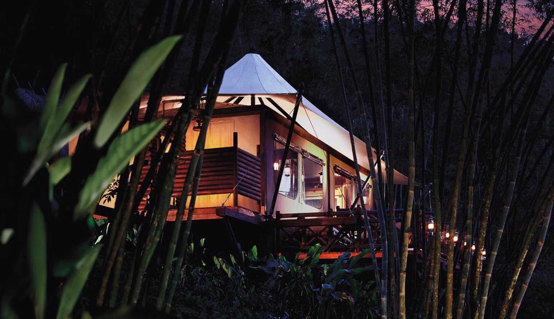 صور التخيم في مخيم المثلث الذهبي من فور سيزونز