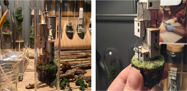عجائب وغرائب الصور 2016 , صور منازل في أنابيب زجاجية , صور أبراج شاهقة في أنابيب زجاجية