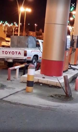 بالصور ازدحام شديد على محطات الوقود بالسعودية بعد رفع اسعار البنزين و الديزل
