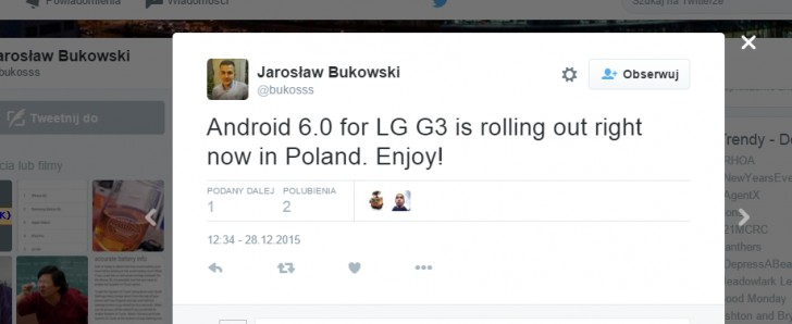جوال إل جي جي 3 يبدأ تلقي تحديث أندرويد مارشملو 6.0
