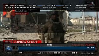 تردد قناة سي ان ان CNN الاخباريه على النايل سات لعام 2017 بعد تغير التردد