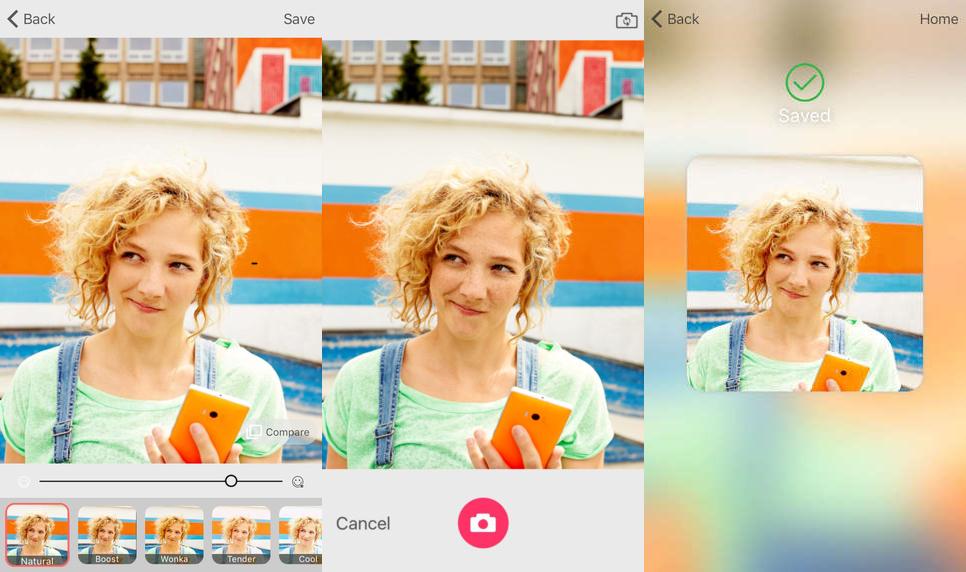 تحميل تطبيق Microsoft Selfie التقاط وتحرير صور السيلفي بطريقة ذكية